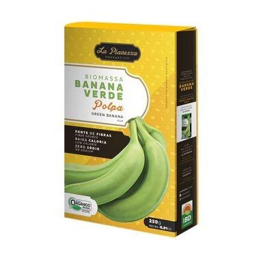 Biomassa de Banana Verde Polpa La Pianezza 250g-0