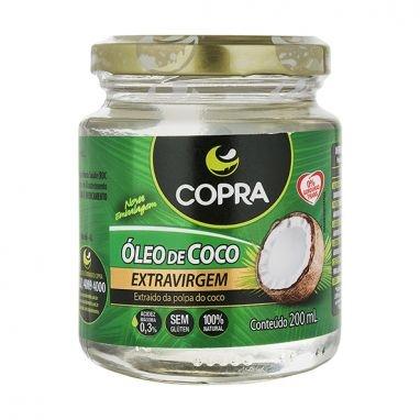 Óleo de Coco Extra Virgem Copra 200ml -0
