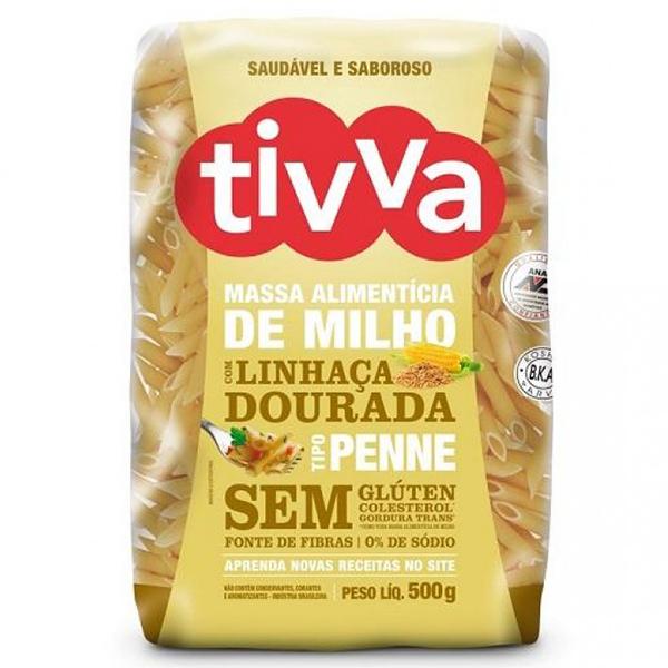 Massa Alimentícia de Milho com Linhaça Dourada Tivva 500g