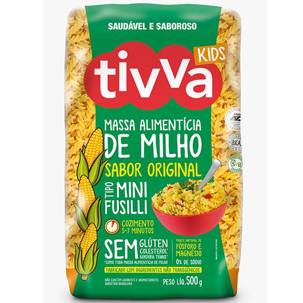 Massa Alimentícia de Milho Mini Sabor Original Tivva 500g