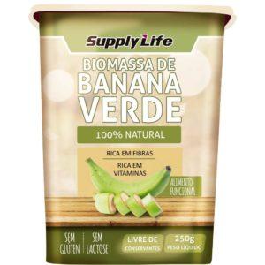 Biomassa de Banana Verde Supply Life 250g-0