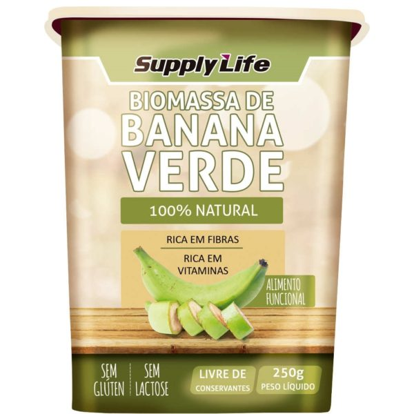 Biomassa de Banana Verde Supply Life 250g-0
