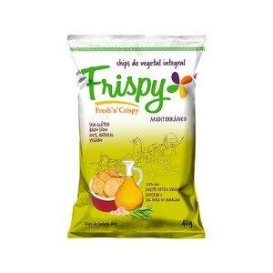 Chips de Vegetal Integral Sabor Mediterrâneo Frispy 40g-0