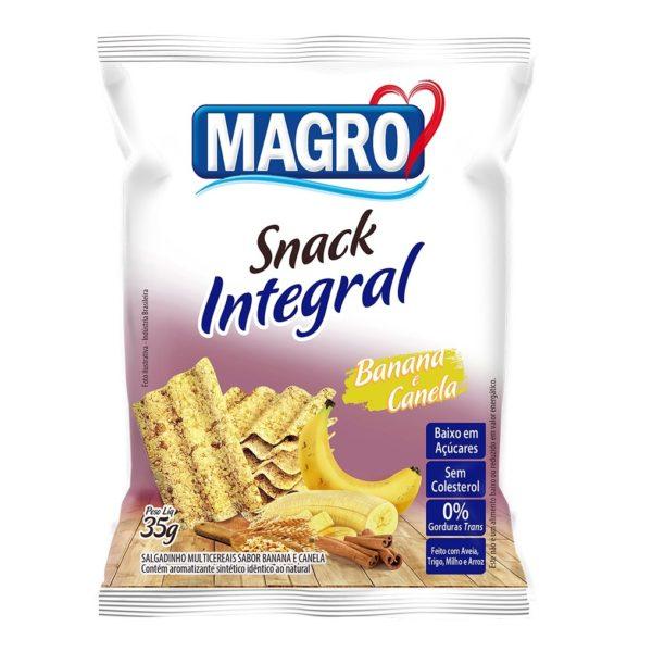 Snack Integral Banana e Canela Magro 35g-0