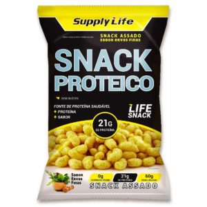 Snack Proteico c/Whey Protein Isolado Supply Life 60g-0